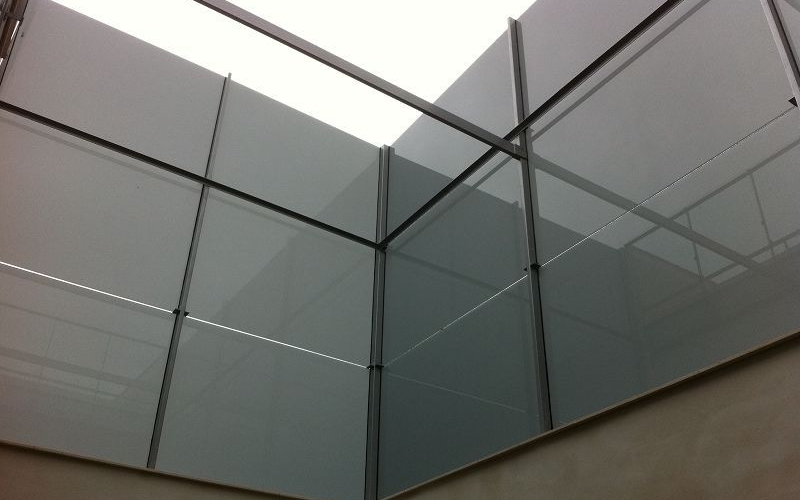 muro cortina de cristal