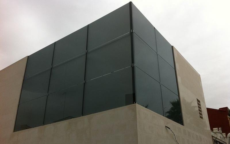 muro cortina