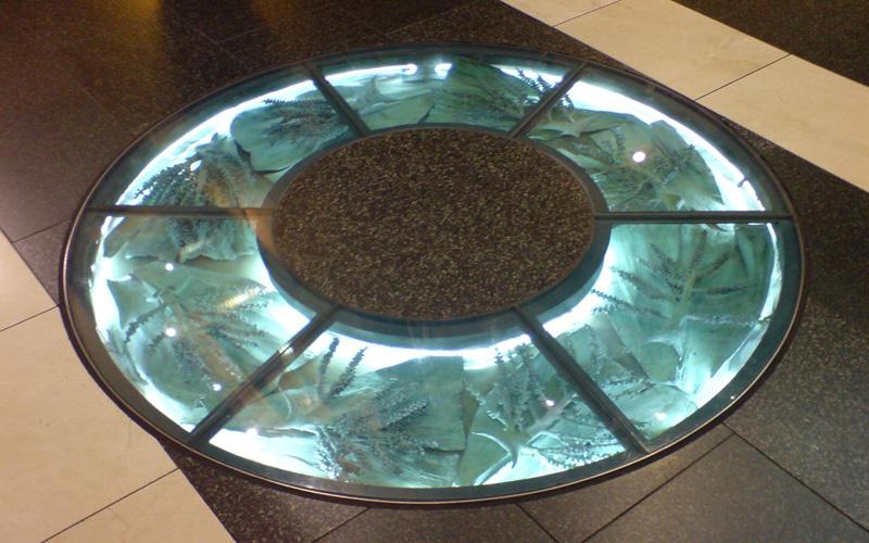 suelo de cristal